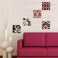 Decor Desing Dekoratif 5'li Tablo Utb106