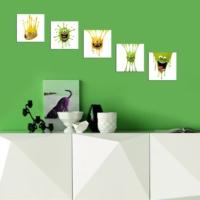 Decor Desing Dekoratif 5'li Tablo Utb142