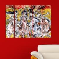 Decor Desing 5 Parçalı Dekoratif Tablo Vsrm011