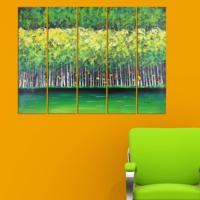 Decor Desing 5 Parçalı Dekoratif Tablo Vsrm021
