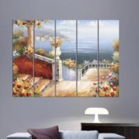 Decor Desing 5 Parçalı Dekoratif Tablo Vsrm024
