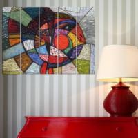 Decor Desing 5 Parçalı Dekoratif Tablo Vsrm025