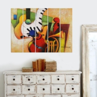 Decor Desing 5 Parçalı Dekoratif Tablo Vsrm037