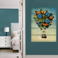 Decor Desing 5 Parçalı Dekoratif Tablo Vsrm084