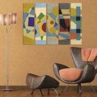 Decor Desing 5 Parçalı Dekoratif Tablo Vsrm125
