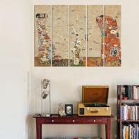 Decor Desing 5 Parçalı Dekoratif Tablo Vsrm126