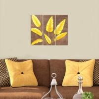 Decor Desing Dekoratif 3'lü Mdf Tablo Xtp154