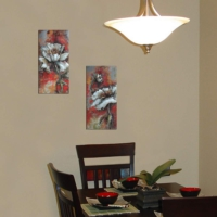 Decor Desing Dekoratif İki Li Mdf Tablo Xtp244