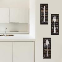 Decor Desing Dekoratif Üç Lü Mdf Tablo Xtp271