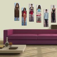 Decor Desing Dekoratif Altı Lı Mdf Tablo Xtp313