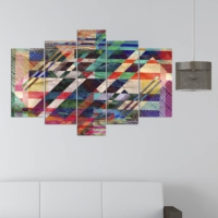 Decor Desing 5 Parçalı Dekoratif Tablo Y5Tp037