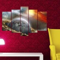 Decor Desing 5 Parçalı Dekoratif Tablo Y5Tp040