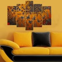Decor Desing 5 Parçalı Dekoratif Tablo Y5Tp065
