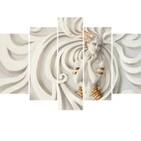 Decor Desing 5 Parçalı Dekoratif Tablo Y5Tp098