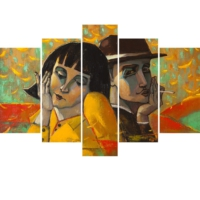Decor Desing 5 Parçalı Dekoratif Tablo Y5Tp108
