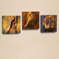 Decor Desing 3'lü Kanvas Tablo Seti Ahm080