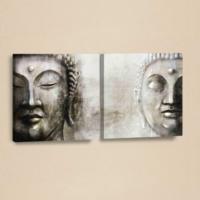 Decor Desing Etnik Desenli 2 Parçalı Kanvas Tablo Chne029