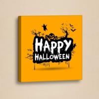 Decor Desing Halloween Kanvas Tablo Hl016