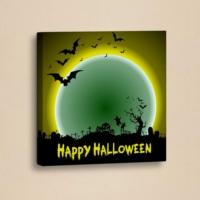 Decor Desing Halloween Kanvas Tablo Hl017