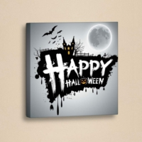 Decor Desing Halloween Kanvas Tablo Hl021