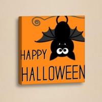 Decor Desing Halloween Kanvas Tablo Hl025