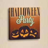 Decor Desing Halloween Kanvas Tablo Hl027