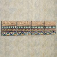 Decor Desing 4'lü Panaromik Kanvas Tablo Seti Tas065
