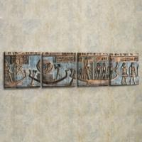Decor Desing 4'lü Panaromik Kanvas Tablo Seti Tas077