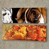 Decor Desing 2'li Panaromic Kanvas Tablo Ugu027