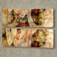 Decor Desing 2'li Panaromic Kanvas Tablo Ugu035