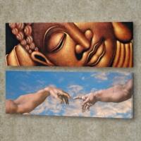Decor Desing 2'li Panaromic Kanvas Tablo Ugu036