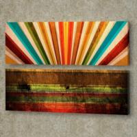 Decor Desing 2'li Panaromic Kanvas Tablo Ugu050