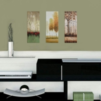 Decor Desing Dekoratif 3'lü Mdf Tablo Xtp142