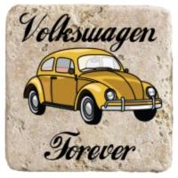 XukX Dizayn Volkswagen Forever Bardak Altlığı