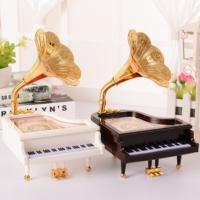 Piyano Müzik Kutusu Beyaz