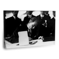 Fotografyabaskı Mustafa Kemal Atatürk Tablo 14 75 Cm X 50 Cm Kanvas Tablo Baskı