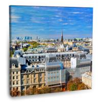 Fotografyabaskı Paris Tablo 70 Cm X 70 Cm Kanvas Tablo Baskı