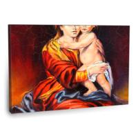 Fotografyabaskı Kadın Ve Bebeği Tablo 75 Cm X 50 Cm Kanvas Tablo Baskı