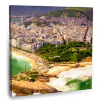 Fotografyabaskı Deniz Kıyısı (Brezilya) 70 Cm X 70 Cm Kanvas Tablo Baskı