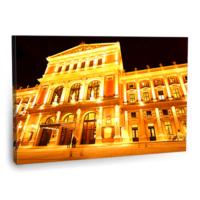 Fotografyabaskı Opera Binası Viyana Tablosu 75 Cm X 50 Cm Kanvas Tablo