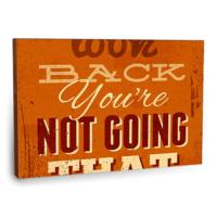 Fotografyabaskı Don'T Look Back Tablosu 75 Cm X 50 Cm Kanvas Tablo Baskı