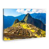 Fotografyabaskı Machu Pichuu Tablosu 75 Cm X 50 Cm Kanvas Tablo Baskı