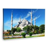 Fotografyabaskı Sultanahmet Camii Tablosu İstanbul 75 Cm X 50 Cm Kanvas Tablo