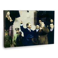 Fotografyabaskı Mustafa Kemal Atatürk Tablo 2 75 Cm X 50 Cm Kanvas Tablo Baskı