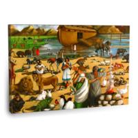 Fotografyabaskı Nuh'un Gemisi Tablo 75 Cm X 50 Cm Kanvas Tablo Baskı
