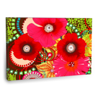 Fotografyabaskı Haş Haş Çiçekleri Tablosu 75 Cm X 50 Cm Kanvas Tablo Baskı