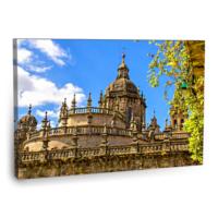 Fotografyabaskı Burgos Katedrali Tablosu Santa Maria 75 Cm X 50 Cm Kanvas Tablo Baskı