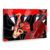 Fotografyabaskı Jazz Band Tablo 75 Cm X 50 Cm Kanvas Tablo Baskı