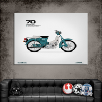 Artredgallery Film Afişleri Moto 70 Tablo