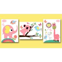 Artredgallerybaby (100 x 40) Kanvas Bebek - Çocuk Tablo